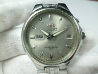Vintage ORIENT 3 STARS Automatic 21 jewels Japan 50m EM 5 Men Wrist Watch Rare