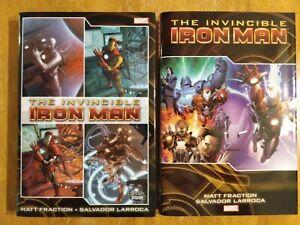Invincible Iron Man Matt Fraction Omnibus Oversized Hardcover