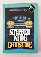 STEPHEN KING. CHRISTINE - 1983 1° edizione in Spagnolo