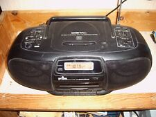 Tragbarer Radio-CD-Kassettenrecorder