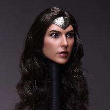 Custom 1:6 Scale Wonder Woman - Batman - Gail and Gadot - Head Sculpt