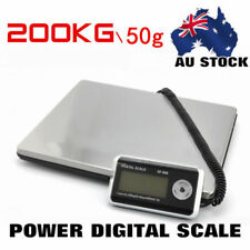 SAA POSTAL SCALE 1KG/4OZ DIGITAL SHIPPING SCALES WEIGHT POSTAGE 200KG/0.1G
