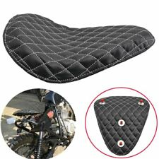 Synthetic Leather Diamond Solo Driver Seat For Harley Sportster Bobber Custom