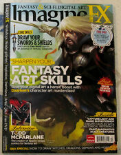 Imagine Fx + Dvd April 2012 Sharpen Fantasy Art Skills Swords Todd McFarlane New