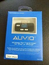 Auvio Wireless FM Transmitter for iPod or iPhone NIB