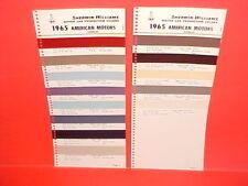 1965 AMC RAMBLER AMERICAN CONVERTIBLE MARLIN CLASSIC AMBASSADOR PAINT CHIPS SW