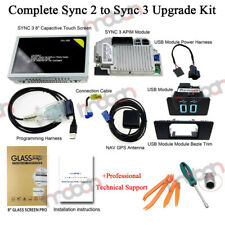 SYNC 2 to SYNC 3 Upgrade Kit for Ford Lincoln Carplay APIM Module 8'' Screen GPS