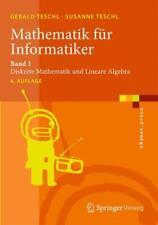 Mathematik für Informatiker 1 von Gerald Teschl (2013, Taschenbuch)