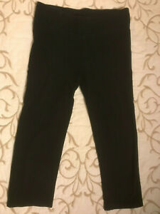 Justice Black Capri Leggings - Girls Size 12 - Pretty