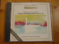 Mozart : Haydn Striechquartette No. 5 + 6 Mozarteum Quartett Salzburg
