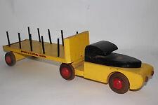 1940's Buddy L Timber Semi Truck (Wooden), Original