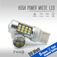 2018 7443/7440 1150 Lumens 50W White Backup Reverse High power LED Light Bulbs