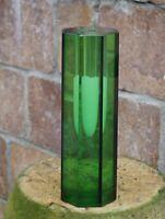 8-eckige Vase, wohl Glashütte Exbor, Novy Bor, Tschechien  (# 11382)
