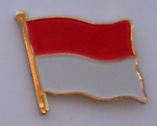 Indonesia Country Flag Enamel Pin Badge