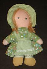 "Vintage Holly Hobbie  AMY Cloth Doll 1975 KNICKERBOCKER 5"" VGC"