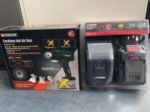 BNIB Parkside 20V Cordless Heat Hot Air Gun + 2Ah Battery + Charger
