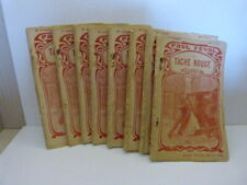 la tache rouge , paul féval , 8 volumes (gc30)