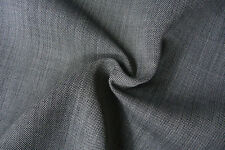 C138 2 WAY WOOL BLEND REVESABLE FABRIC FACE SIDE LIGHT GREY REVERSE SIDE BLACK