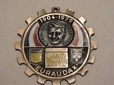 MEDAILLE MEDAL CYCLISME LES AUDAX FRANCAIS R.POULIDOR 1904-1979