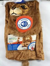 Imaginarium Pretend Play Dress Up Lion with Sounds Costume Kids 3+ Halloween New