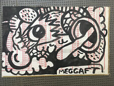 Dessin Original Meggaft Encre Street Art Graffiti Tag