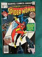 Spider-Woman #1 - Near Mint (9.4) or better - White Pages