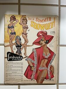 1964 Summer Show Off FREDERICKS OF HOLLYWOOD Catalog Vol. 18 Issue No. 78 (52)