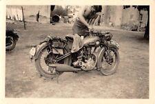 Technischer Dienst Motorrad NSU 251 Samatka Ostfront