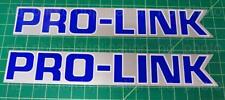 Pro-Link Honda Silver/Blue sticker decals CR XR 125 250r 350 400 450r 480r 500