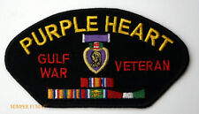 PURPLE HEART GULF WAR OIF VET PATCH US ARMY MARINES NAVY USCG AIR FORCE PIN UP