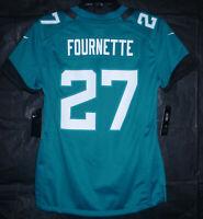 Jacksonville Jaguars Leonard Fournette #27 Nike NFL Jersey Teal Women's Size S