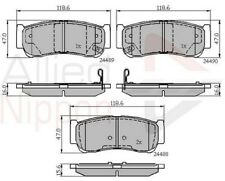 Allied Nippon Rear Brake Pad Set ADB31714  - BRAND NEW - 5 YEAR WARRANTY
