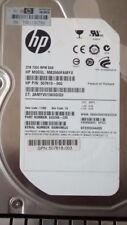 "HP 507613-002 MB 2000 famyv 7200 RPM SAS 2 TB 3.5"" Hard Disk Drive"