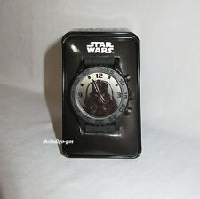 New Star Wars Darth Vader Hologram Analog Watch with Tin Collectible Gift