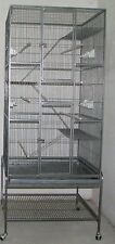 Extra Large 3 Level Ferret Chinchilla Sugar Glider Rat Small Animal Cage 257