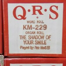 Qrs Kimball Electramatic Player Organ The Shadow Of Your Smile Rare Km -229