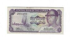 New listing Rare Gambia Xf Commemorative 1 Dalasi Nd 1978 Low Starting Bid