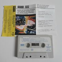 THE MOODY BLUES DAYS OF FUTURE PASSED CASSETTE TAPE 1967 PAPER LABEL DERAM UK