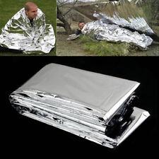 GOOD New Outdoor Emergency Solar Blanket Survival Insulating Mylar Thermal Heat