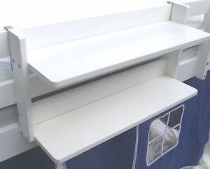 Storage Bed Shelf Hanger For Cabin Loft Bed Mid Sleeper Kids New