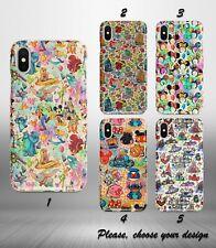 Disney Cartoons case for iphone 11 pro max XR X XS SE 2020 8 7 plus 6 5 + SN