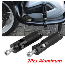 2Pcs Black CNC Aluminum Alloy Folding Foot Footrest For Motorcycle Accessories