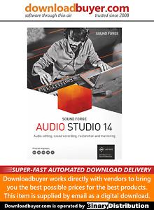 MAGIX Sound Forge Audio Studio 14 - [Download]