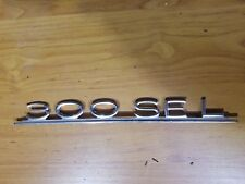 Mercedes Benz Model Badge 300SEL W109 3.5, 6.3