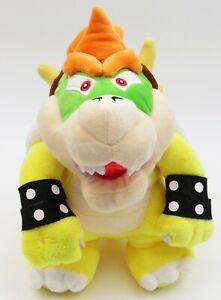 Super Mario Bros Bowser Koopa Plush Doll Stuffed Figure Toy 10 inch Gift