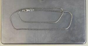 "CrazieM Sterling 925 Silver Vintage Southwest Estate Necklace 20-24"" 8.8g x52"