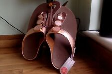 FITFLOPS  TOE THONG UK 6 EURO 39 (HALO ) ROSE GOLD WITH 3 DISCS ROSE GOLD ON TOP