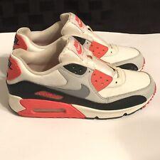 Nike Air Max 1 Essential 2012 Running Walking 7Y Shoe Red Orange 307793-137