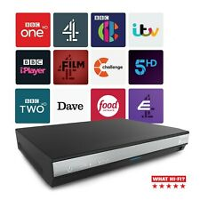 More details for humax hdr-2000t freeview hd recorder set top box play tv 500gb aerial needed