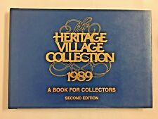 Dept 56 The Heritage Village Collection 1989 Collectors Book 2nd Edition